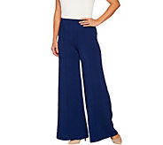 Lisa Rinna Collection Palazzo Pant with Pintuck - A299565