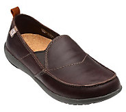 Spenco Mens Siesta Leather Slip-Ons - A330865