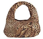 Lee Sands Leopard Print Hobo Bag - A331265