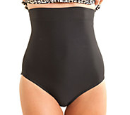 Carol Wior High Waist Slimming Swim Panty - A333765