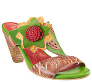 Spring Step LArtiste Leather Sandals - Toucy - A336065
