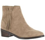 Bella Vita Suede Ankle Boots - Fern - A341165