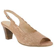Spring Step Leather Sandals - Janelle - A364165
