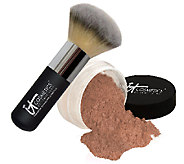 IT Cosmetics Bye Bye Pores HD Bronzer w/ Hydro-Collagen & Brush - A218666