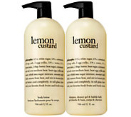 philosophy super-size lemon custard & vanilla coconut gel & lotion - A236966
