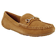 Isaac Mizrahi Live! Classic Suede Moccasins - A239466