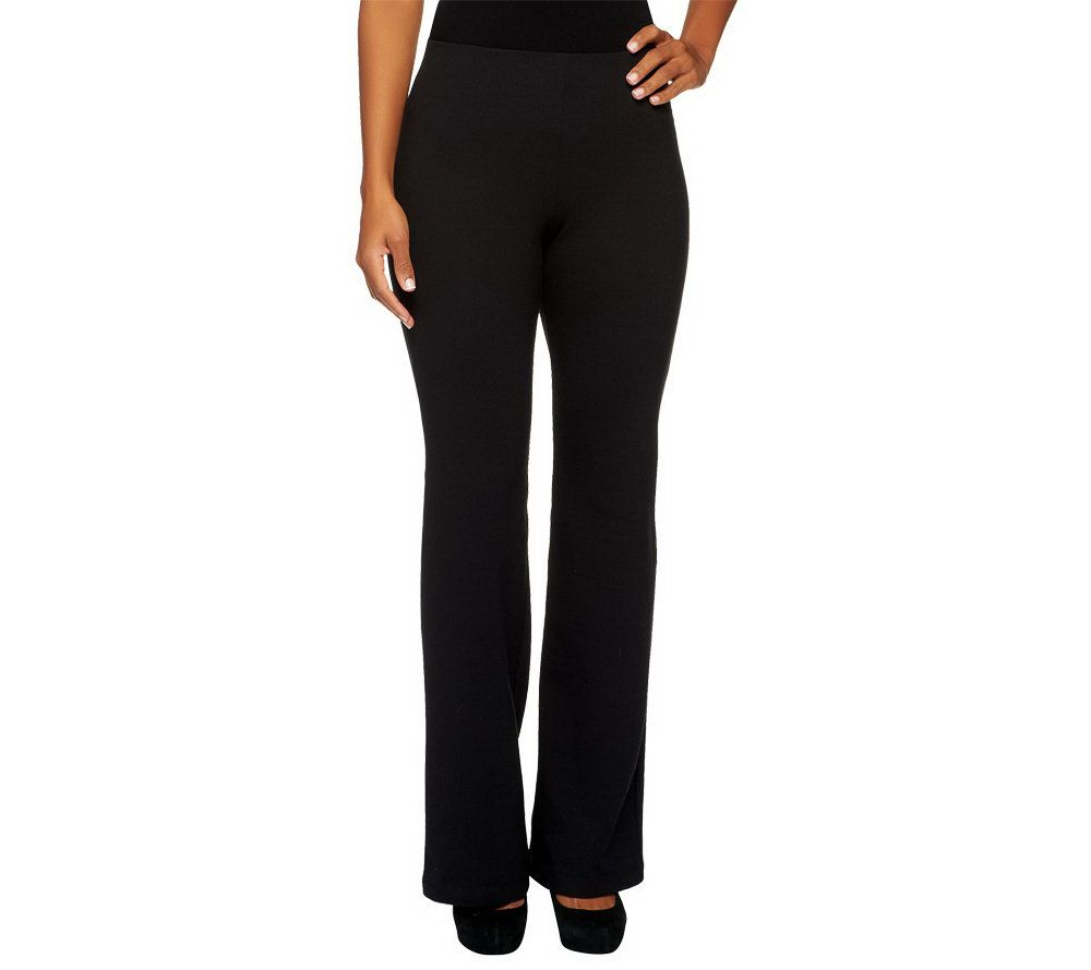 """As Is"" Women with Control Petite Hollywood Waist Pants w ..."