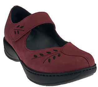 Dansko Leather or Suede Mary Janes w/ Stitch Detail - Annie