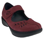 Dansko Leather or Suede Mary Janes w/ Stitch Detail - Annie - A260766