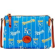 Dooney & Bourke MLB Nylon Royals Crossbody Pouchette - A281566