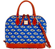 Dooney & Bourke NFL Ravens Zip Zip Satchel - A285766