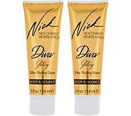 Nick Chavez Diva Glitzy Silky 4 oz. Styling Glaze Duo - A286566