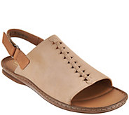 Clarks Leather Sandals w/ Ankle Strap - Sarla Forte - A288966