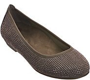 As Is Vionic Orthotic Leather Ballet Flats - Willow - A291766
