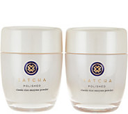 TATCHA Polished Rice Enzyme Powder Set of 2 Auto-Delivery - A292266