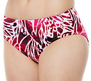 Simply Sole Skin Deep Control Panty Swim Bottoms - A332466