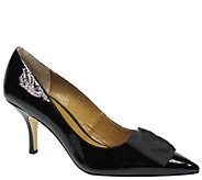 J. Renee Leather Pointed Toe Pumps - Camley - A355966