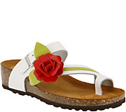 Spring Step Leather Thong Sandals - Lilah - A356666