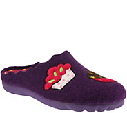 Flexus by Spring Step Indoor/Outdoor Wool Slippers - Birthday - A360266