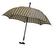 Leighton Manual Open and Close Cane Umbrella - A181967