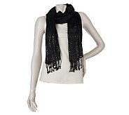 Joan Rivers Woven with Style Sequin Scarf - A219367