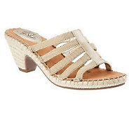 LifeStride Multi-strap Espadrille Sandals - Route - A220567