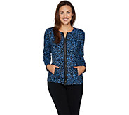 Linea Leisure by Louis DellOlio Composition Print Jacket - A225867