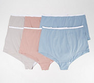 Breezies S/6 Cotton Womens Brief Panties with UltimAir - A22767