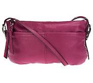 B. Makowsky Leather East/West Crossbody Bag - A228767