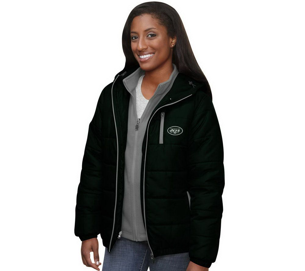 NFL Pro Line Women's 3-in-1 Jacket & Fleece Combo Set �� QVC.com