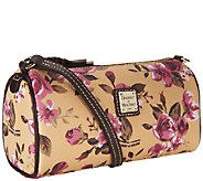 Dooney & Bourke Coated Cotton Cabbage Rose Small Barrel Bag - A255167