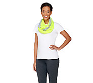 Tashon Packable Infinity Scarf with Side Zipped Pocket - A263767