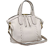 As Is orYANY Cassie Pebbled Leather Mini Convertible Satchel - A268867