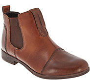 Earth Leather Slip-on Chelsea Boots - Dorset - A270067