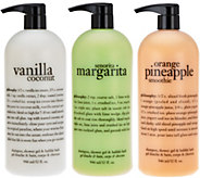 philosophy super-size tropical paradise shower gel trio - A277267