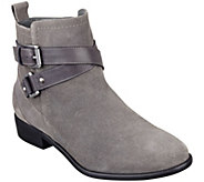 As Is Marc Fisher Suede Ankle Boots - Charlie - A277667