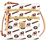 Dooney & Bourke NCAA University of Georgia Zip Crossbody - A283467