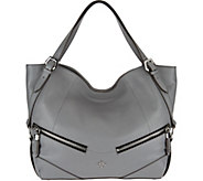 As Is orYANY Leather Shoulder Bag - Bella - A289767