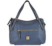As Is Dooney & Bourke Saffiano Large Nina Shoulder Bag - A293567