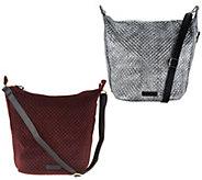 Vera Bradley Carson Zip Top Hobo Handbag - A300967