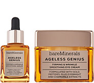bareMinerals Ageless Genius Wrinkle Serum and Eye Cream Duo - A303567