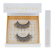 Battington Silk Lashes with Application Glue - A311367
