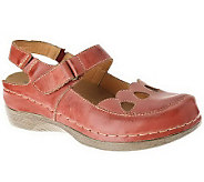 Spring Step Hope Leather Sling Back Mary Janes - A329867
