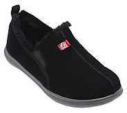 Spenco Mens Supreme Suede Leather Orthotic Slippers - A330867
