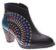 Spring Step LArtiste Leather Ankle Boots - Rhapsody - A334167
