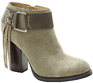 Kensie Suede Leather Booties - Masola - A338167