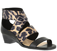 Bella Vita Elastic Multi-strap Wedge Sandals -Paloma II - A339067