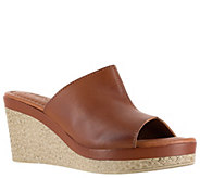 Tuscany by Easy Street Wedge Sandals - Octavia - A363867