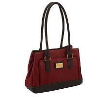 Tignanello Pebble Leather Multi- Compartment Shopper