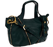 orYANY Pebble Leather Lian Satchel w/ Convertible Strap - A239268